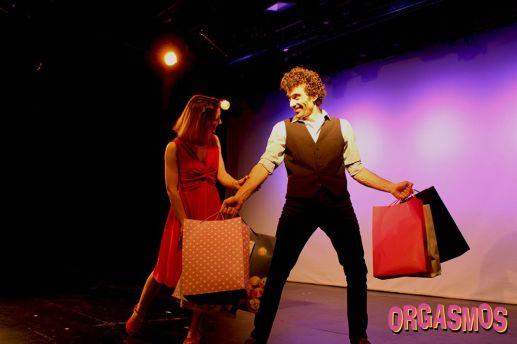 Orgasmos la comedia actor joan pico comicos monólogos monologuista teatro gran vía madrid Pequeño teatro gran vía Teatro de la luz Philips