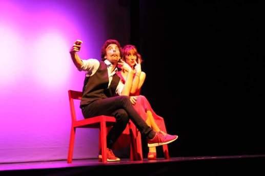 Orgasmos la comedia actor joan pico comicos monólogos monologuista teatro gran vía madrid Pequeño teatro gran vía Teatro de la luz Philips risa